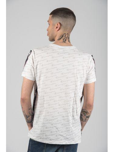 CHAMPION t-shirt 212807-WL001 λευκό