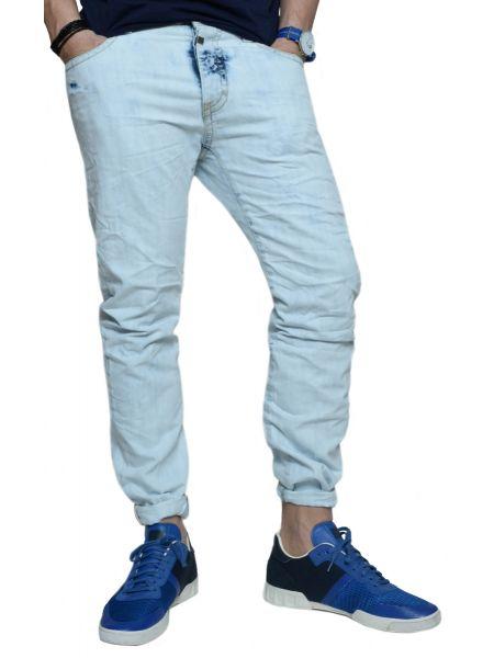 Seven Denim jean GROVER-J05 ξεβαμμένο μπλε