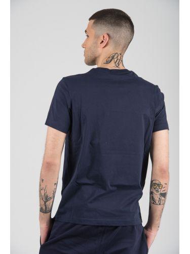 CHAMPION t-shirt 212946-BS536 μπλε
