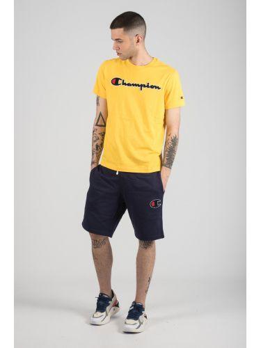 CHAMPION t-shirt 212946-YS001 κίτρινο