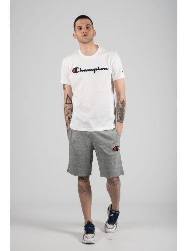CHAMPION t-shirt 212946-WW001 λευκό