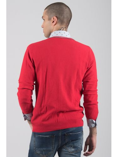 GIANNI LUPO neck thread BW629 red