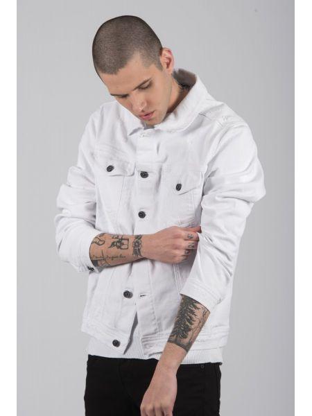 BLACK CIRCUS jean jacket GBU1736 white