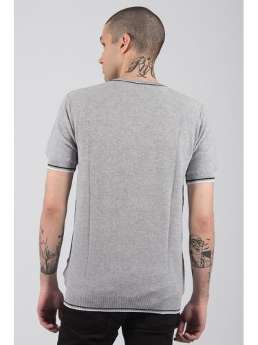 GIANNI LUPO t-shirt thread BW625 grey