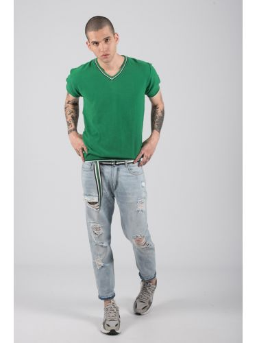 GIANNI LUPO t-shirt thread BW625 green