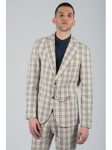 BESILENT MAN κοστούμι KOUSK20-01 μπεζ