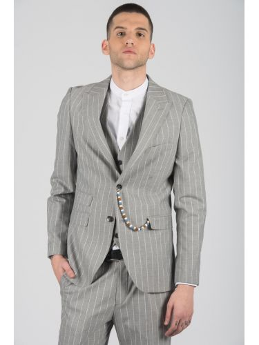 GUARDAROBA suit KOUSK20-04 grey