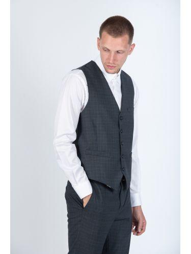 GUARDAROBA vest PGL-506/01 grey