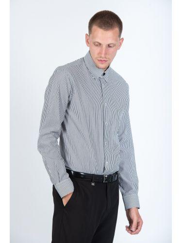 GUARDAROBA πουκάμισο PG-800/2832-04 λευκό-μαύρο