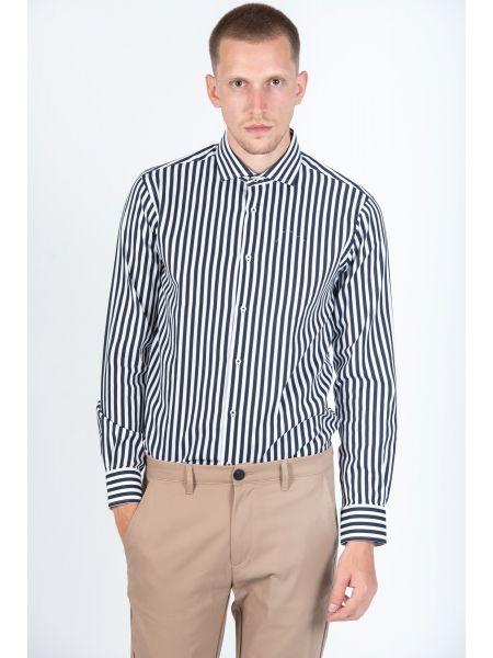 GUARDAROBA shirt PG-600/2871-02 white-blue