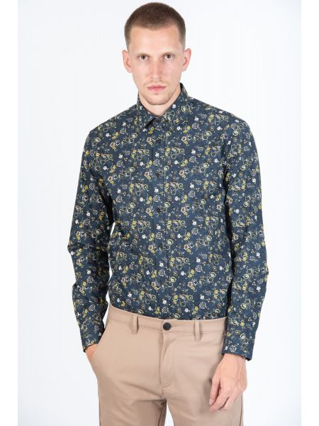 GUARDAROBA shirt PG-600/2831 blue marin