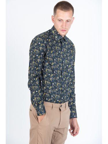 GUARDAROBA πουκάμισο PG-600/2831 μπλε μαριν