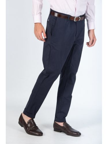 I AM BRIAN chino pants PA1093 blue