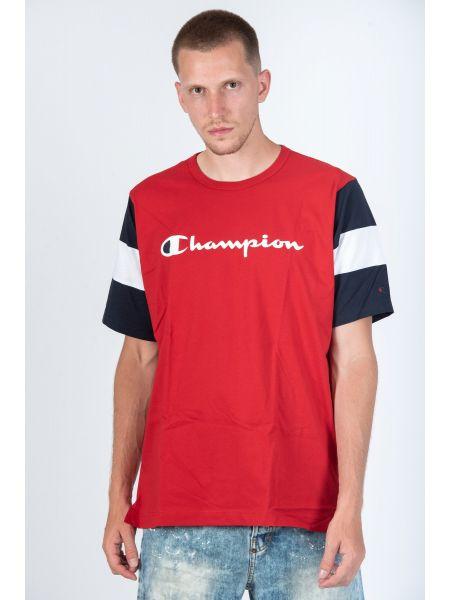 CHAMPION t-shirt 213644-RS053 κόκκινο