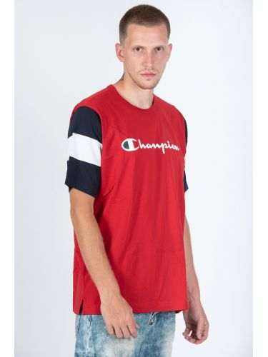 CHAMPION t-shirt 213644-RS053 κόκκινο
