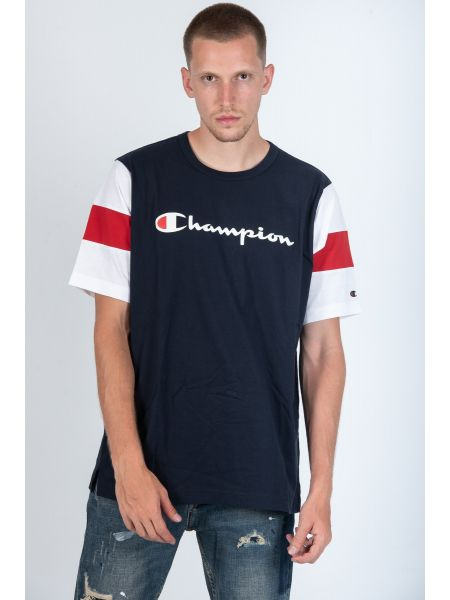CHAMPION t-shirt 213644 BS505 μπλε