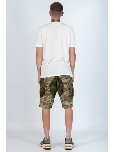 G-STAR RAW cargo shorts ROVIC MIX LOOSE 1/2 D09872.8638 camouflage