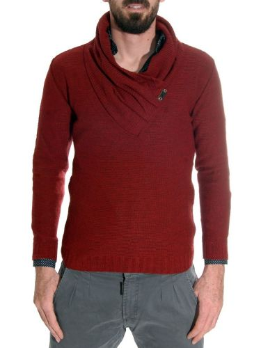 Takeshy Kurosawa sweater 79605 claret