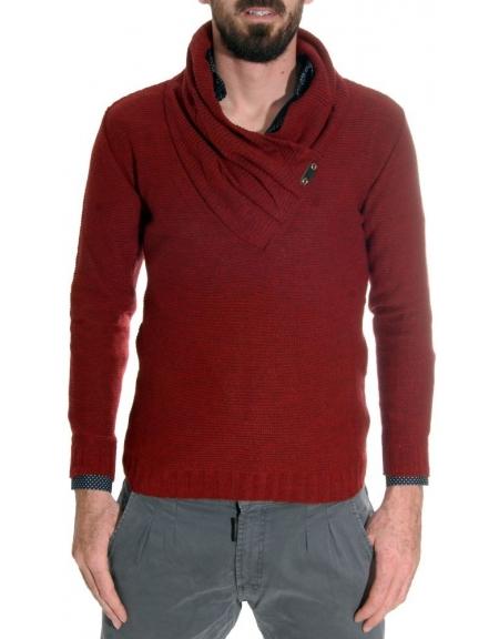 Takeshy Kurosawa sweater 79605 claret