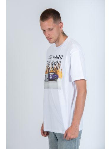 MFN t-shirt KHELIL VIA19065TS W0150 λευκό