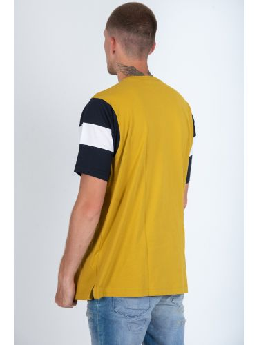 CHAMPION t-shirt 213644-YS071 κίτρινο