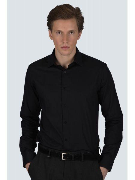 GUARDAROBA πουκάμισο PG-600/2806-02 μαύρο