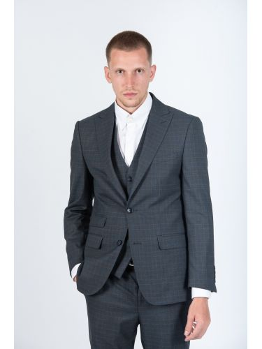 GUARDAROBA suit KOUSK20-09 grey