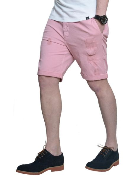 THE PROJECT βερμούδα τσίνο H3SO113CO ροζ