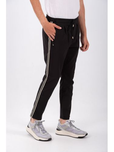 XAGON MAN παντελόνι chino P2003 μαύρο