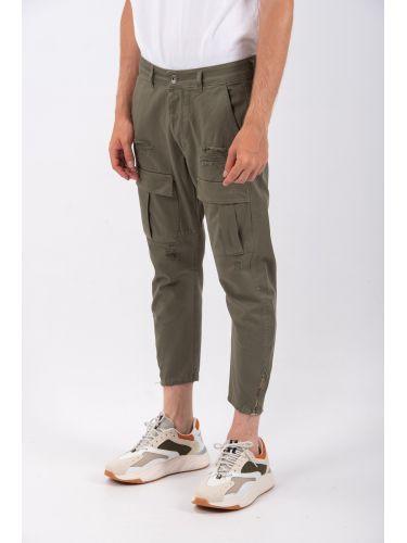 J. RODINO pants cargo JR1478/068ER khaki
