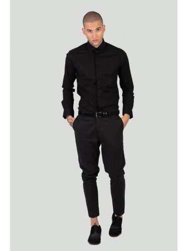 I AM BRIAN chino παντελόνι PA1093 μαύρο