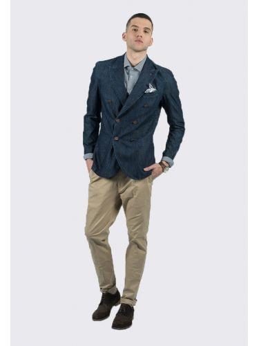 BESILENT MAN σακάκι BSGI0180 μπλε μαρίν