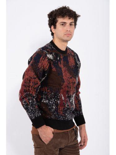 GABBA blouse P4985 brown
