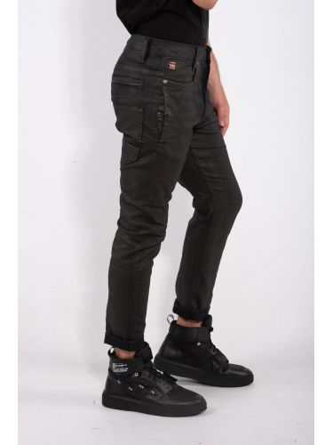 G-STAR RAW jean D-STAQ 3D SLIM D06754-9860-B826 μαύρο