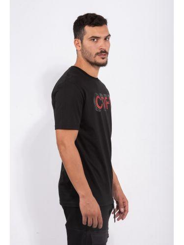 COMME DES FUCKDOWN t-shirt CDFU751 μαύρο