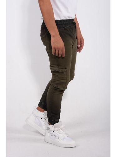 TIGHA cargo trouser ODELL 9057 DYED 104799 khaki