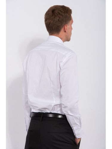 GUARDAROBA πουκάμισο PG-10020/WHITE λευκό