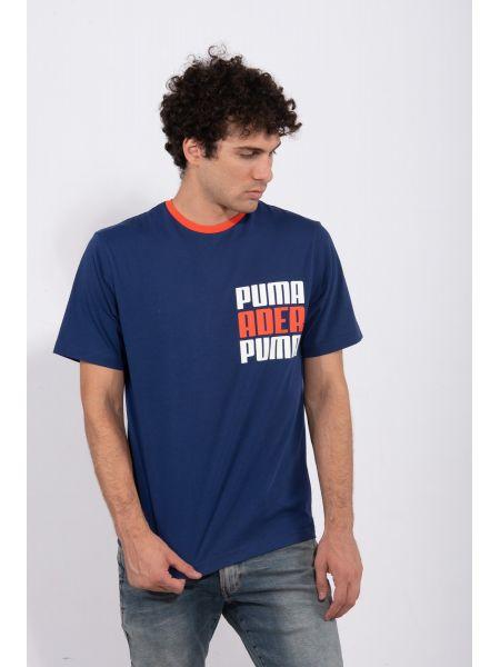 PUMA t-shirt ADER TEE 576950-79 μπλέ