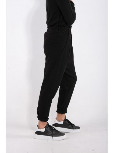 LA HAINE παντελόνι 3B HOKKA μαύρο