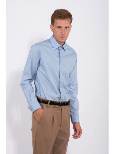 PAPILIO GARAMAS πουκάμισο PG-10020/LTB γαλάζιο