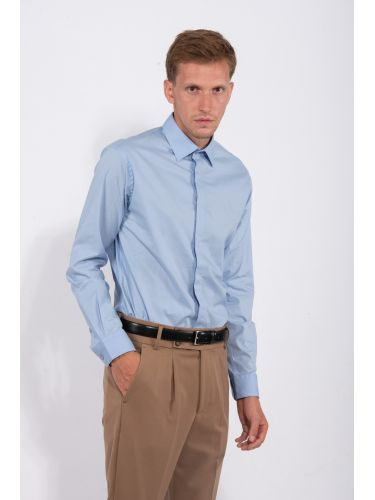 PAPILIO GARAMAS shirt PG-10020/LTB light blue