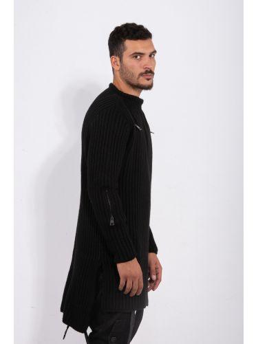 LA HAINE πουλόβερ 3J LIBER μαύρο