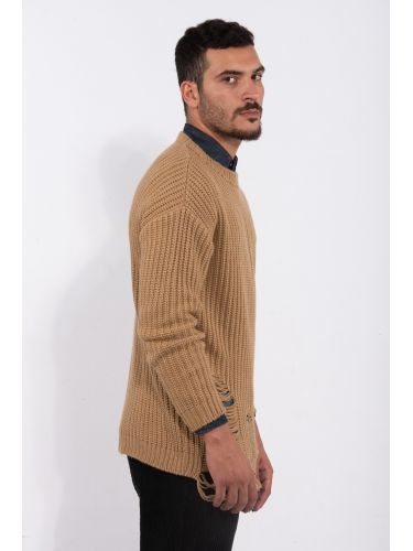 XAGON MAN sweater J00350 brown