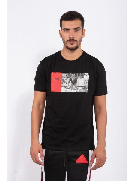 COMME DES FUCKDOWN t-shirt CDFU801 black
