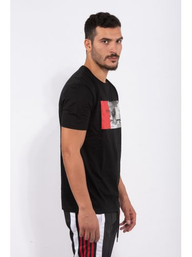 COMME DES FUCKDOWN t-shirt CDFU801 μαύρο