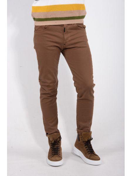 I AM BRIAN pentacle pants MIKRO C L1315 brown