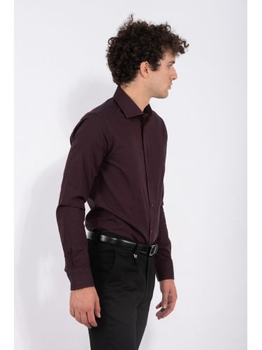 GUARDAROBA πουκάμισο PG-600/2809-03 μπορντό