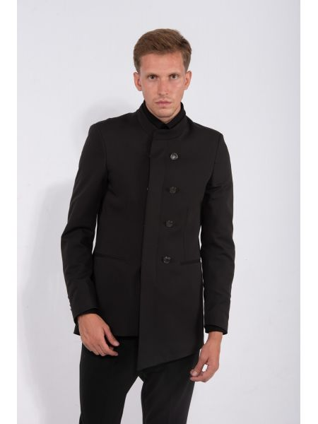LA HAINE blazer 3P REMIX black