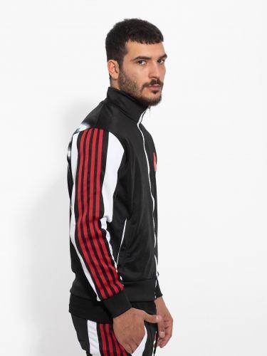 COMME DES FUCKDOWN sweatshirt cardigan CDFU982 black