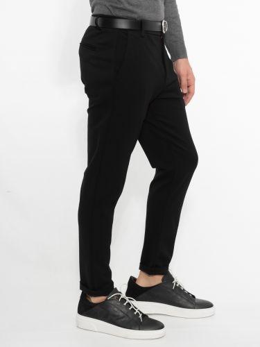 OVER-D chino pants OM203PN black